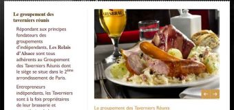 Restaurants Relais d'Alsace, entre tradition et modernité